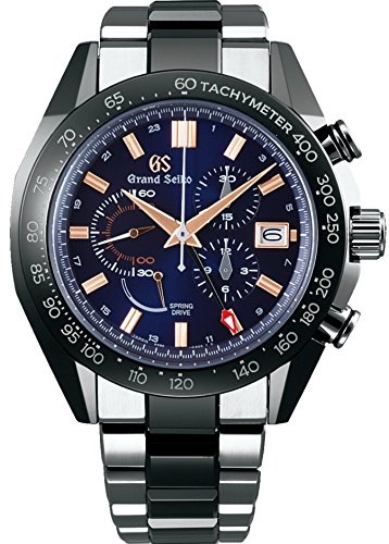 Grand Seiko Black Ceramic Collection Limited Edition SBGC219 9R Spring Drive