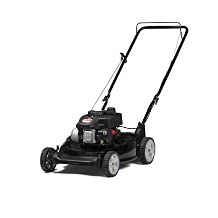 Amazon com : Yard Machines 140cc OHV 21-Inch 2-in-1 Push Walk-Behind