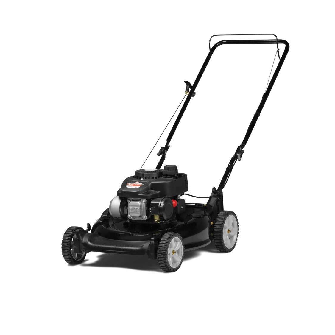 Yard Machines 140cc OHV 21-Inch 2-in-1 Push Walk-Behind  Gas Powered Lawn Mower