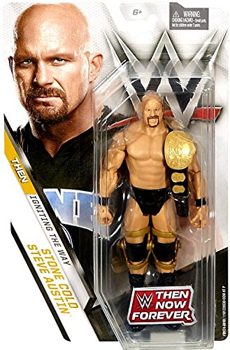 Amazon Wwe Basic Series Then Now Forever Stone Cold Steve
