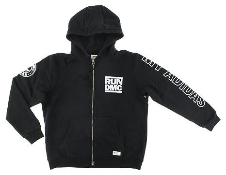 Details about ADIDAS ORIGINALS RUN DMC Mens full zip hoodie M64176