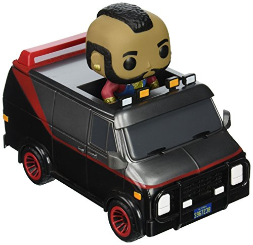 Funko Pop Ride  A Team Van With B A  Baracus Action Figure