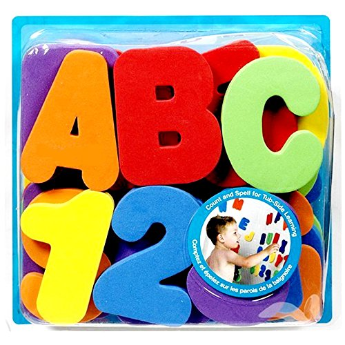 Educational Toys Baby bath toys floating toy with figure alphabet for children boys girls bathtub