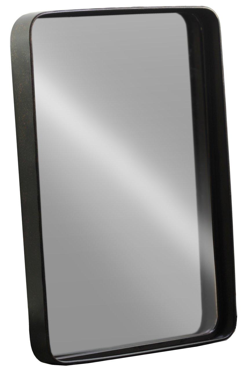 Urban Trends Mirror, Brown - Item Type: Mirror Item Material: Metal Item Finish: Antique Tarnished Finish - bathroom-mirrors, bathroom-accessories, bathroom - 51uqANEZl5L -