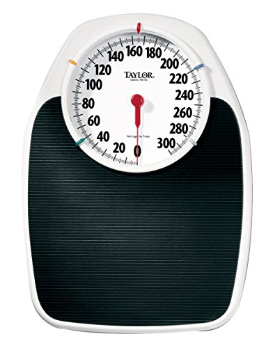 """Baseline 12-1320 Large Dial Scale, 330 lbs  Capacity, 6.5"""" Dial on 17"""" x 11"""" Platform"""