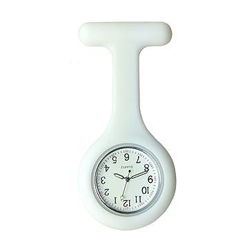 Silicona reloj de bolsillo broche llavero Clip médico ...