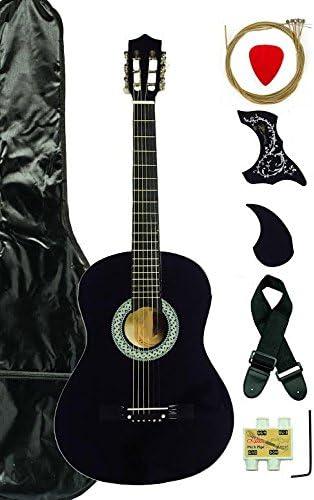 38-Inch principiante Pack de principiantes para guitarra acústica ...