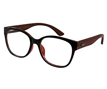 d59b8b117aa Image Unavailable. Image not available for. Color  EyeBuyExpress Reading  Glasses RX Women Men Red Black High Comfort Retro Style