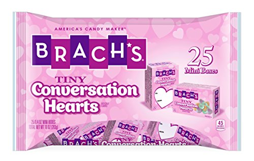 Brach's Tiny Conversation Hearts Valentines Day Candy, 10 oz