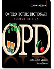 Oxford Picture Dictionary, Second Edition: Dictionary Audio CDs (4)