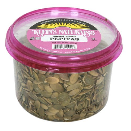 Klein's Naturals Pepitas, Hulled Shelled, (Pack of 6)