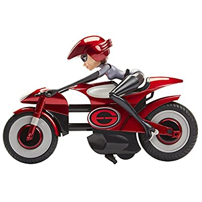 The Incredibles 2 Stretching & Speeding Elasticycle Playset with Removable Elastigirl Figure: Toys & Games