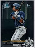 2017 Bowman Baseball Chrome Prospects #BCP8 Luis Almanzar Padres