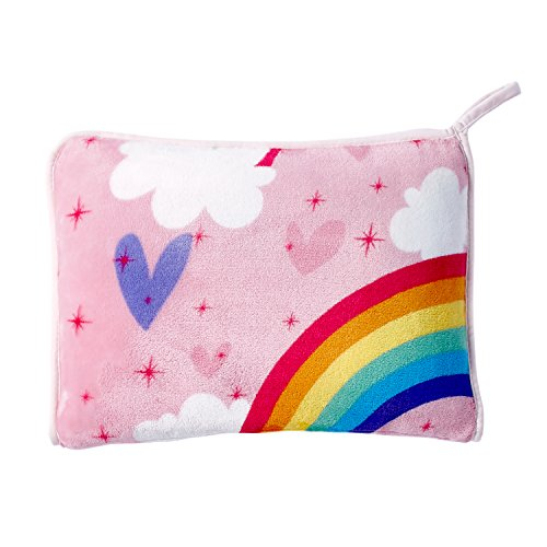 dream FACTORY Unicorn Rainbow Blanket, 50'' x 70'', Multicolor by dream FACTORY