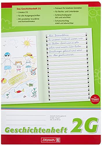Brunnen 104499102 Historia Cuaderno Clase 2 (A4, 16 hojas, línea 2 G)