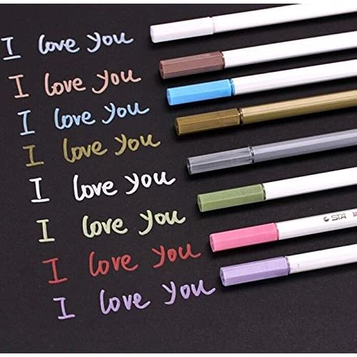 Wholesale 10 Pcs/lot DIY Metallic Watercolor Gel Pen Decorative hot sale
