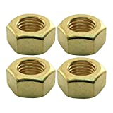 MACs Auto Parts 47-31114 Exhaust Manifold Stud Nut - Brass - 7/16-20 - Ford FlatheadV8 Except 60 HP - 4 Cylinder Ford Model B