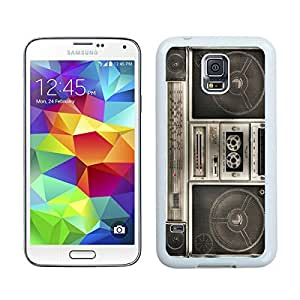 Cool Boombox S5 Case Best New Samsung Galaxy S5 Case White Cover