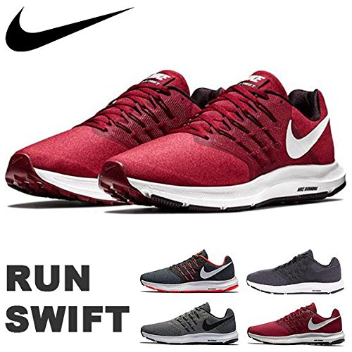 Nike Running Vast Vast Scarpe Swift Crimson Run da Uomo Grey Black wIqpIr0z