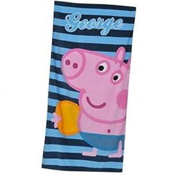 Zoggs Peppa Pig George nadar toalla de baño: Amazon.es: Juguetes y juegos