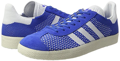 Basses footwear chalk blue Primeknit Gazelle Sneakers White White Homme Adidas Bleu gqtSwFx