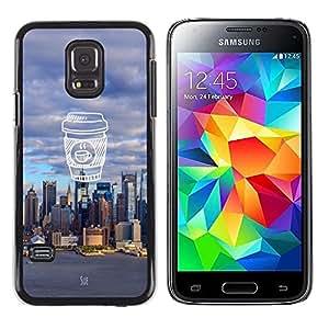 Dragon Case - FOR Samsung Galaxy S5 Mini, SM-G800 - strong for too long - Caja protectora de pl??stico duro de la cubierta Dise?¡Ào Slim Fit