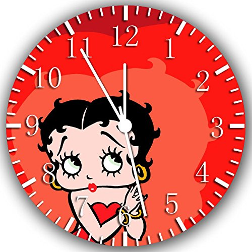 Betty Boop Borderless Frameless Wall Clock W238 Nice For Decor Or Gifts