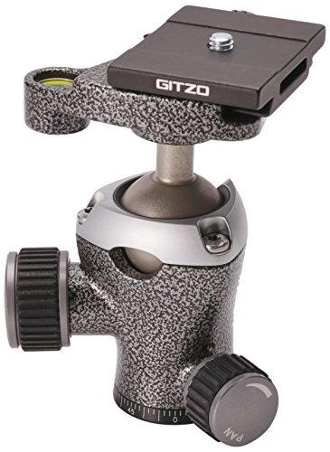 Gitzo GH1382TQD Center Ball Head Series 1 Traveler with Quick Release D (Black)