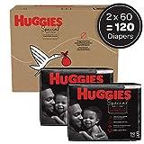 Hypoallergenic Baby Diapers Size 5, 120 Ct, Huggies
