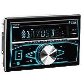 BOSS Audio 850BRGB Double Din, Bluetooth, CD/MP3/USB/SD AM/FM Car Stereo,  Wireless Remote, Multi Color Illumination