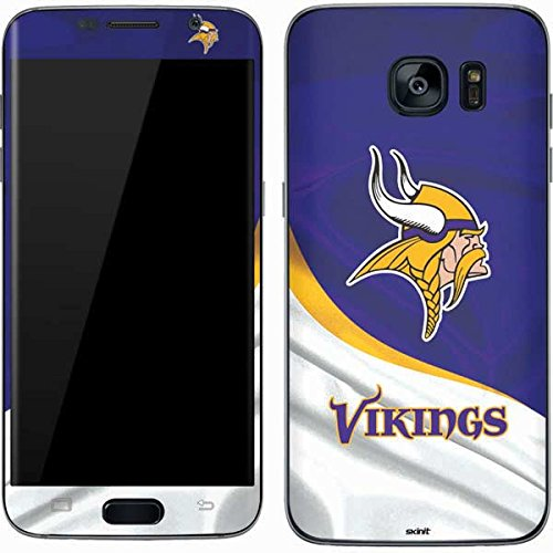 Skinit Minnesota Vikings Galaxy S7 Skin - Officially Licensed NFL Phone Decal - Ultra Thin, Lightweight Vinyl Decal Protection