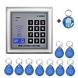 OBO HANDS RFID KEYPAD 125KHz RFID keychains + Standalone Keypad RFID Reader+Epoxy Rfid Tag for Door Access Control System K2000
