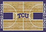 Texas Christian Horned Frogs Milliken NCAA Home Court Area Rug (5'4'' x 7'8'')