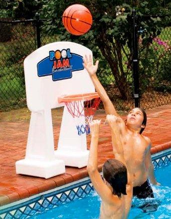 Pool Jam In Ground Pool Basketball Game (Swimline Jam Pool)