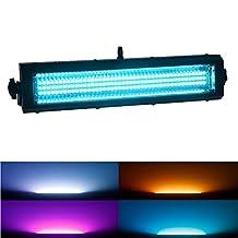 MFL S100 Led Strobe Light 132 RGB Leds Strobe Blinder and Wash Light All in One for Dj Party Stage Lives Concert