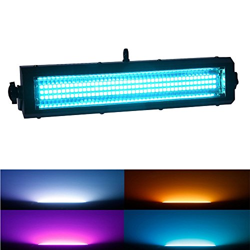 [MFL S100 Led Strobe Light 132 RGB Leds Strobe Blinder and Wash Light All in One for Dj Party Stage Lives Concert] (Rgb Wash)