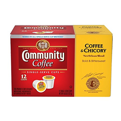 Community Coffee Orleans Chicory Single Serve product image