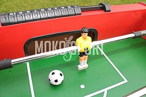 MoKo 100101 – Futbolín Vertical para niños Barras rientranti ...