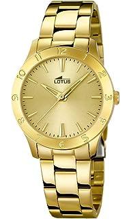 Lotus 18140/2 - Reloj de cuarzo para mujer, con correa de acero inoxidable