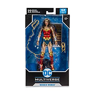 McFarlane Toys DC Multiverse Wonder Woman: Wonder Woman Action Figure (15122-0)