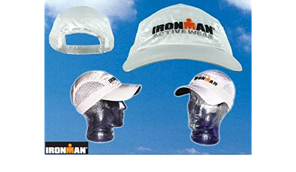 Gorra para correr Cap triatlón Ironman Racing WZ: Amazon.es ...