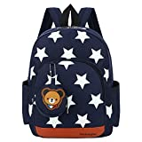 Vox Kids Backpack Preschool Boys Girls Toddler School Bags for Kindergarten backpack preschooler, Dark Blue