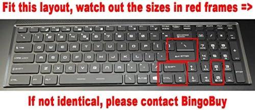 Silicone keyboard Skin For MSI GS70 GS60 GT72 GE62 GE72 PE60 PE70 GT62 GL62 GL72