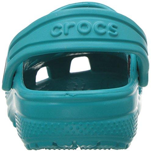 crocs Unisex-Kinder Classic Clog Kids Blau (Turquoise)