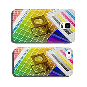 Colour value book and color fan with Fadenz?hler cell phone cover case iPhone6 Plus
