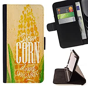 King Case - FOR Samsung Galaxy S4 Mini i9190 - wish to succeed - Prima caja de la PU billetera de cuero con ranuras para tarjetas, efectivo Compartimiento desmontable y correa para la mu?eca
