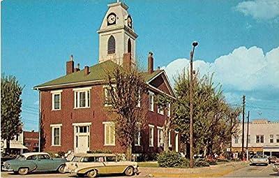 Elkton Kentucky Todd County Courthouse Vintage Postcard J52323