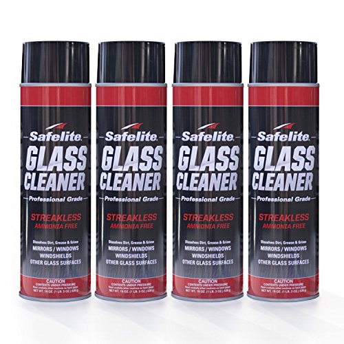 Price comparison product image Safelite Glass Cleaner, 19 oz, 4 Pack