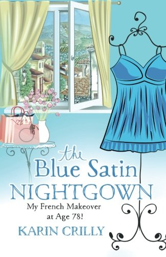 Blue Satin Nightgown French Makeover product image