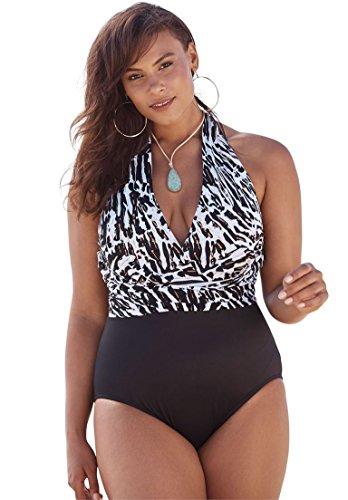 88718ee4cf Roamans Plus Size Swimwear | Shop Best Roamans Plus Size Swimwear